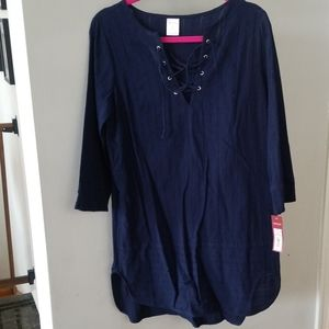 Navy Blue cover up
